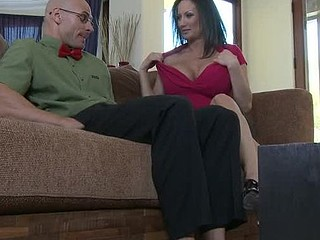Stephanie Wylde is on a mission. Her son's almost any astounding ally is a large time nerd and it's putting a strain on her son's friendship with him. Stephanie takes it upon herself to try and turn this nerd into a stud with her home made remedy...her vagina.