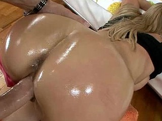 Round assed and large tittied hottie is screwed well on camera